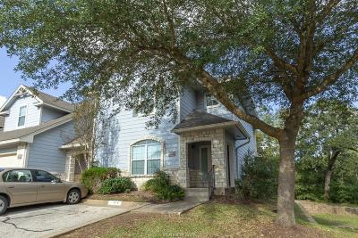 College Station Condo/Townhouse For Sale: 1313 Canyon Creek Circle