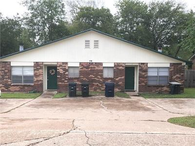 Brazos County Multi Family Home For Sale: 1235 April Bloom #A-B