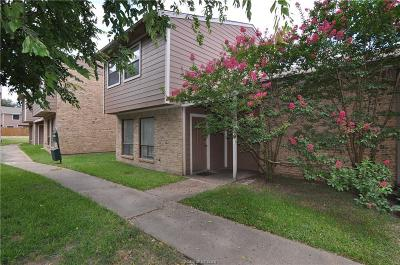 Bryan TX Condo/Townhouse For Sale: $109,950