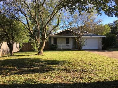 College Station TX Single Family Home For Sale: $154,900
