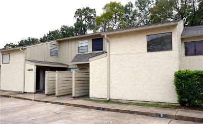 Bryan TX Condo/Townhouse For Sale: $82,900