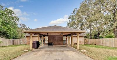 Brazos County Multi Family Home For Sale: 712 San Mario Court #A&B