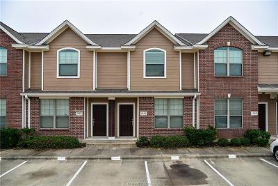 College Station Condo/Townhouse For Sale: 1000 Spring Loop #1405