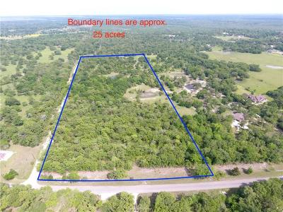 College Station Residential Lots & Land For Sale: Tbd Peach Creek Road