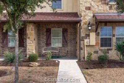 College Station Condo/Townhouse For Sale: 4315 Commando Trail