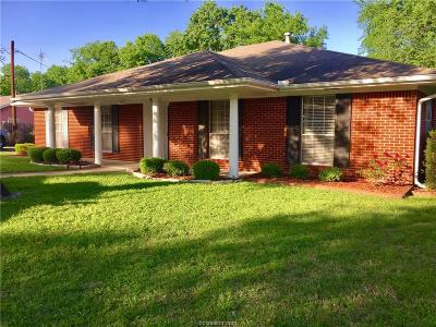 Madisonville Single Family Home For Sale: 502 North Commerce Street
