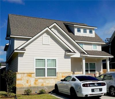 Bryan Single Family Home For Sale: 3205 Link