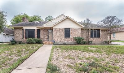 Bryan TX Single Family Home For Sale: $209,900