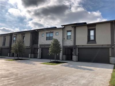 College Station Condo/Townhouse For Sale: 2929 Papa Bear Drive