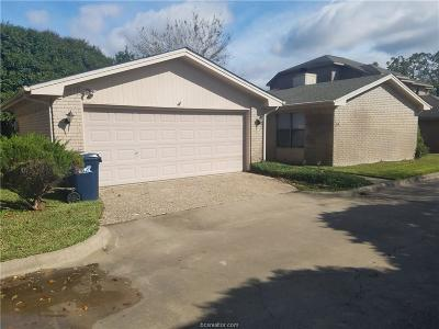 Brazos County Single Family Home For Sale: 1816 Brothers #33