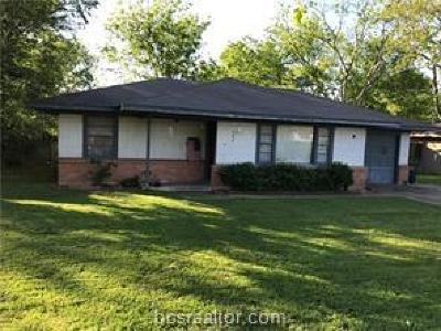 Bryan , College Station  Single Family Home For Sale: 407 Walton Drive