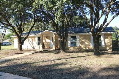 Bryan TX Single Family Home For Sale: $235,000