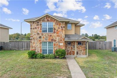 College Station TX Single Family Home For Sale: $189,900
