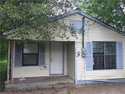 Bryan TX Single Family Home For Sale: $49,000