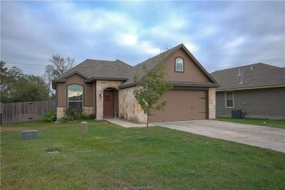 Bryan TX Single Family Home For Sale: $196,000