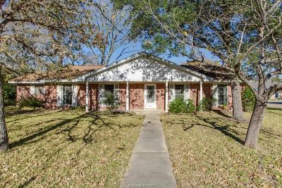 College Station Single Family Home For Sale: 1119 Neal Pickett Drive