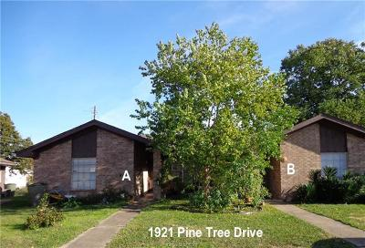 Bryan Multi Family Home For Sale: 1921 Pine Tree Drive #A & B