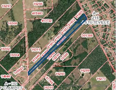 College Station Residential Lots & Land For Sale: 12.08 Acres Stousland Road