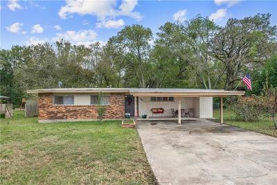 Brazos County Single Family Home For Sale: 807 Vine Street