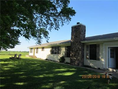 Robertson County Single Family Home Contingency Contract: 12434 Fm 937
