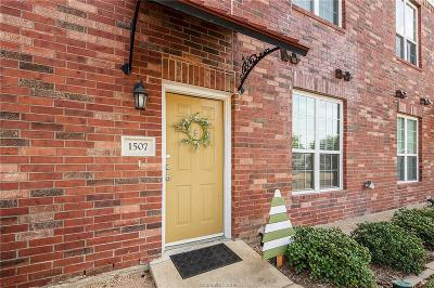 College Station Condo/Townhouse For Sale: 801 Luther Street #1507