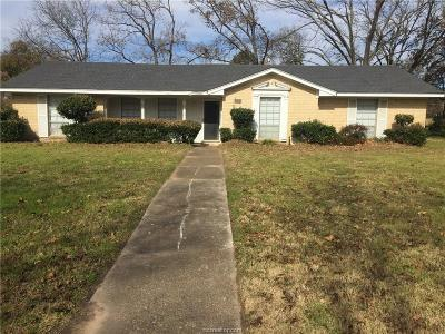 Hearne Single Family Home For Sale: 1110 West 2nd Street