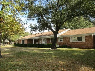 Hearne Single Family Home For Sale: 1001 Anderson Street