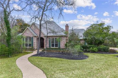 College Station Single Family Home For Sale: 5105 Ganton Court
