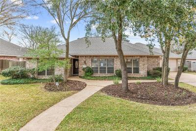 College Station Single Family Home For Sale: 3204 Sunflower Trail
