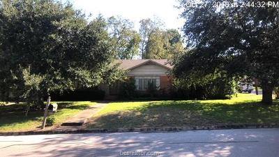Washington County Single Family Home For Sale: 609 West Lubbock