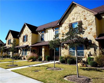 College Station TX Condo/Townhouse For Sale: $219,000