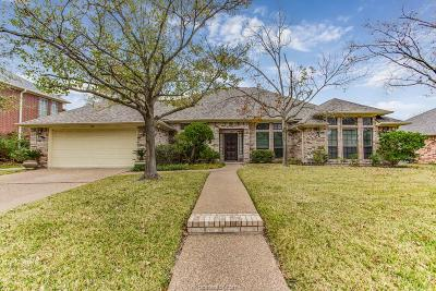 College Station TX Single Family Home For Sale: $345,000