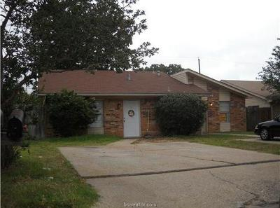 Brazos County Multi Family Home For Sale: 2715 Sprucewood Street #A&B