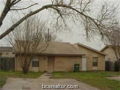 Brazos County Multi Family Home For Sale: 2717 Sprucewood Street #A&B