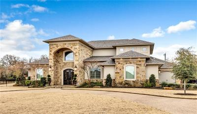 College Station Single Family Home For Sale: 8810 Queens Court
