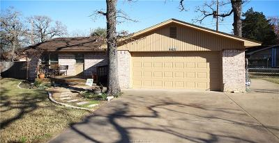 Bryan Single Family Home For Sale: 4401 Sherwood Drive