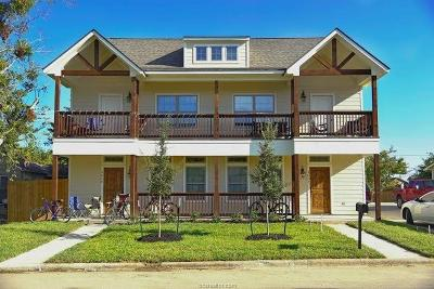 College Station Multi Family Home For Sale: 302 Cooner Street