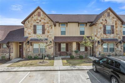 College Station TX Condo/Townhouse For Sale: $238,500