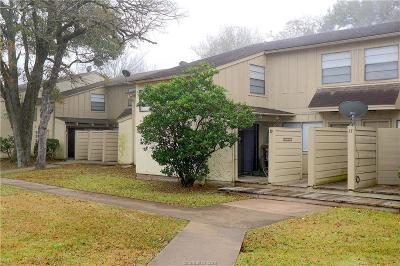 Brazos County Condo/Townhouse For Sale: 4403 Carter Creek #9