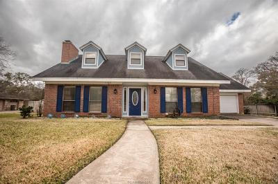 Bryan Single Family Home For Sale: 4012 Green Valley Drive