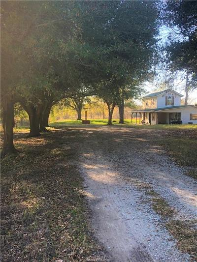 Hearne Single Family Home For Sale: 928 Old Franklin Hwy