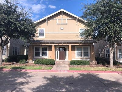 College Station Condo/Townhouse For Sale: 1725 South Harvey Mitchell Parkway #411