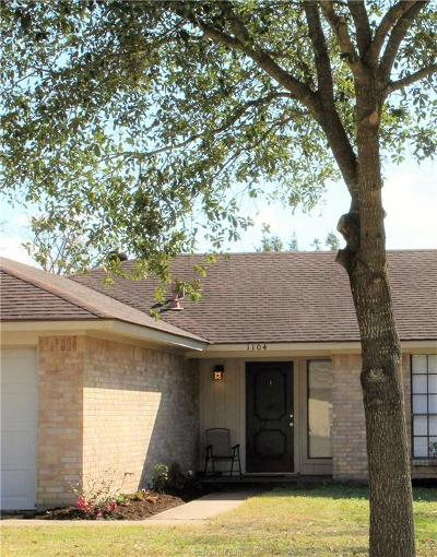 College Station TX Single Family Home For Sale: $169,900