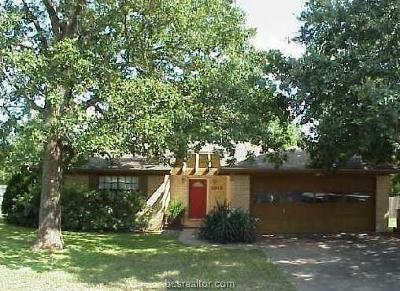 Bryan Single Family Home For Sale: 2613 Westwood Main Drive
