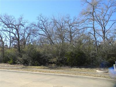 bryan Residential Lots & Land For Sale: 3407 Chinquapin Court