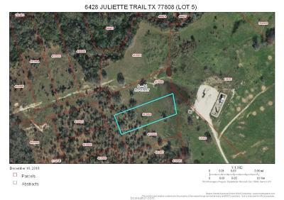bryan Residential Lots & Land For Sale: 6428 Juliette Trail