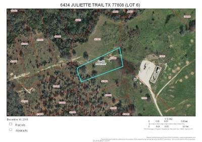 bryan Residential Lots & Land For Sale: 6434 Juliette Trail