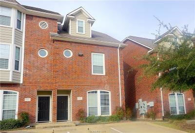 Condo/Townhouse For Sale: 305 Holleman #1506