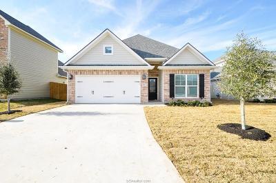 College Station Single Family Home For Sale: 2510 Cordova Ridge
