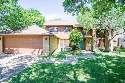 College Station Single Family Home For Sale: 8710 Bent Tree Drive